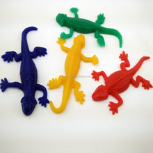 Sticky lizard toy TPR stretchy lizard toy