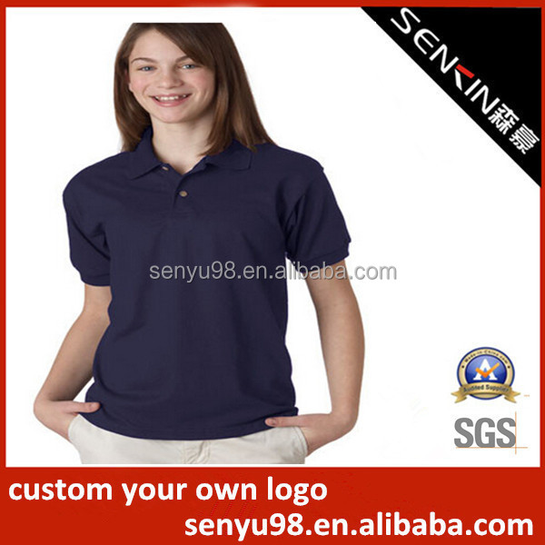 Breathable Work Uniform Polo Shirts School Uniform Shirts Wholesale