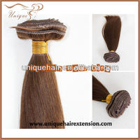 Hair extension light yaki clip in