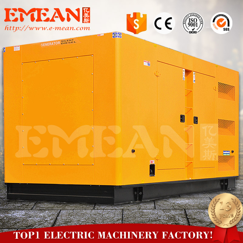 20kw/25kva best quality water cooling brushless ISO diesel enerators