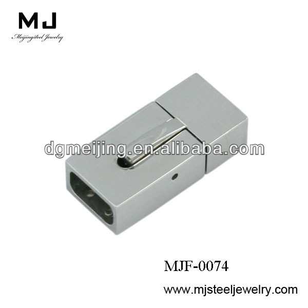 Wholesale High quality jewelry finding and componts chain clasp stainless steel jewelry findings (MJF-0074)