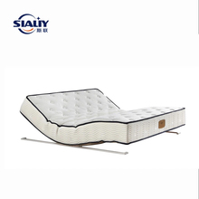 Adjustable electric massage mattress suitable for any bed frame