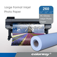 Large format Premium High glossy inkject photo paper roll size 30 50 m