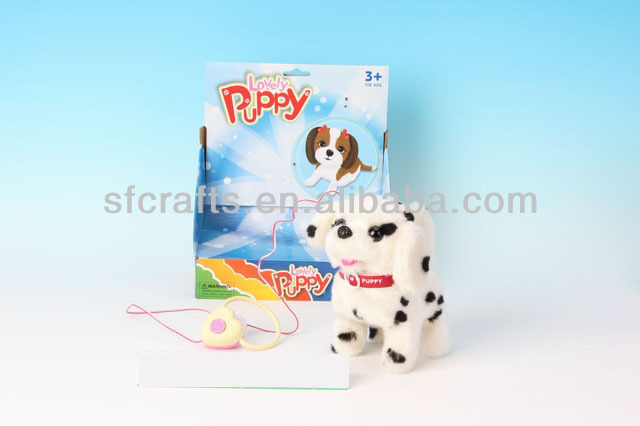 2014 Line control electronic plush pet toy dog