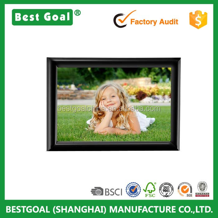 6x8 Inch Picture Frame Without Mat Plastic Home Fun Collage Table Top Photo Frame