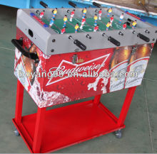 cooler box with football table