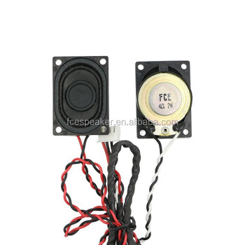 2840 4ohm 2w micro rectangular tweeter speaker