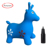 RUNYUAN Inflatable Jumping Animal,Hopper Toy,Jumping Deer,Purple