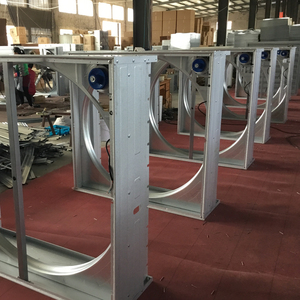Poultry farm chicken feeding cooling fan ventilation system
