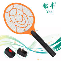 Y55 indoor electronic insect killer rechargeable without LED light mosquito racket bat