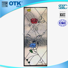 China wholesale custom bathroom glass wall panel