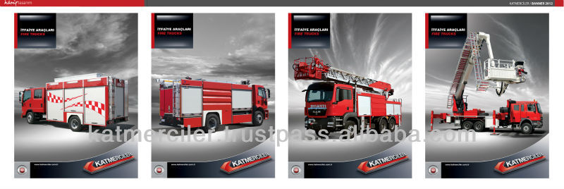 Hydraulic Ladder Fire Fighting Truck