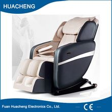 Heat stretched foot rest electric massage chair