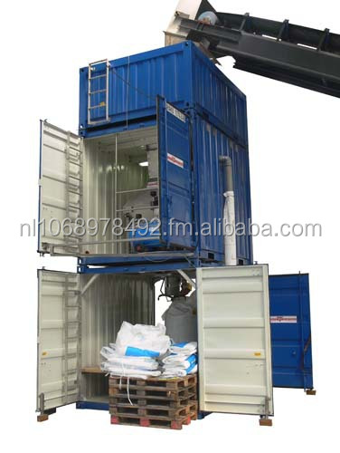 Big bag filling system Portable container 10ft