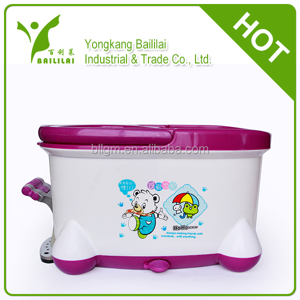 New design easy life 360 rotating spin mop bucket