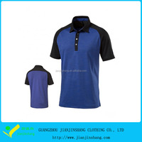 Cool Pass Color Combination Raglan Sleeve Golf T Shirt For Men