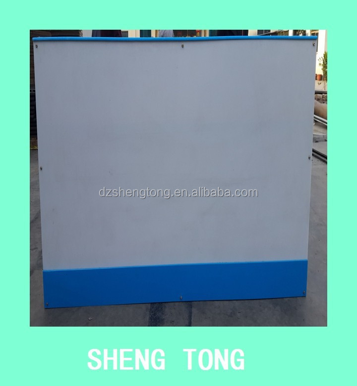 High density UPE /UHMWPE/HDPE/PE ice hockey shooting board/synthetic ice rink barrier