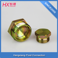 hydraulic plug made in China Ningbo for brass pipe fitting 4D-20