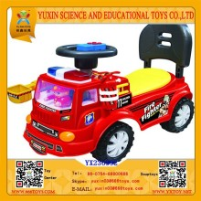 2015 Funny Cartoon Fire-engine Baby Car