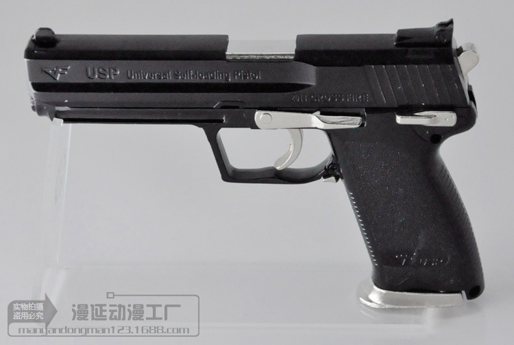 Chinese model toy <strong>gun</strong> factory 1:2.05 metal Desert Eagle USP pistol model can be removed can not firing