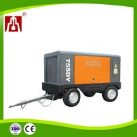 ZEGA High Enegy Efficient Electric Screw Portable Industrial Air Compressor For Coal Mining