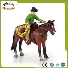 custom make cowboy figurines pvc injection toys,custom plastic mold toys cowboy figurines