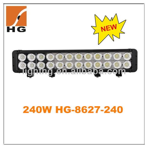 "20"" 240W LED Driving Work Light Bar,Off road 4x4 truck 4wd SUV,LED lights 24v TRUCK TRAILER"