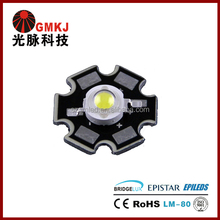 Bridgelux Epistar Chip 1W High Power LED with Star PCB Board RGBW