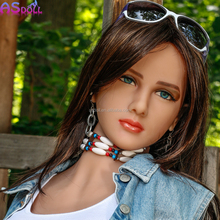 160cm realistic beautiful 18 japan silicone TPE real sex doll for adult man
