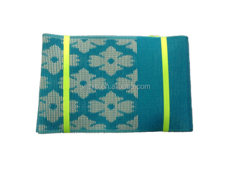 Hot selling hayes african head tie / teal blue wholesales nigeria regular headtie