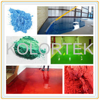 Metallic powder for epoxy flooring, multicolor pearlescent pigment for industry
