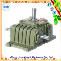 changzhou machinery WPO/WP Cast Iron small Worm Transmission Gearbox Parts with diesel engines for agricultural machines