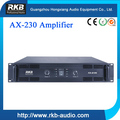 Professional AX-230 Two channels Power amplifier 300W