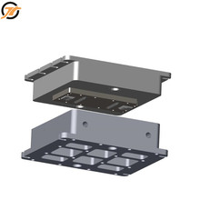 Professional factory custom service die cast mould mold maker making high quality rubber paver mould