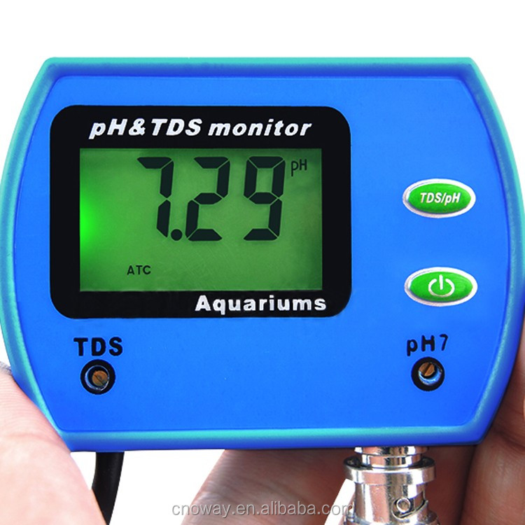 High Precision Multi Use Digital TDS PH Meter for Aquarium OW-9851