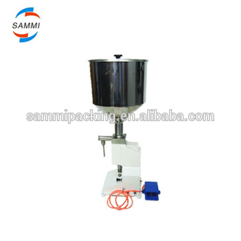 High business latest semi-auto paste cream filling machine