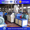 plastic hdpe pipe making machine for hot sale