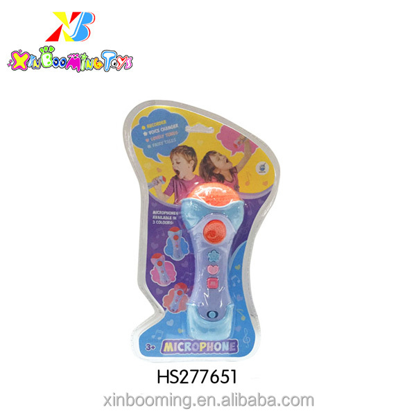 new good quality children voice change,recording microphone toys