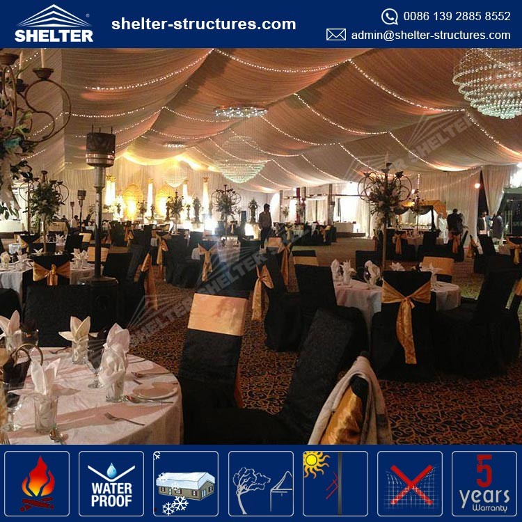 Clear Span 1000 People Marquee Wedding Tent For Sale