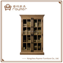 Raymer French Provincial Chinese Book Cabinet Antique Wooden Cabinet