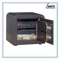 different sizes 1.5 hours fire proof home money safe box