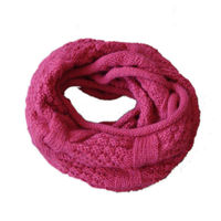 2013 fashion ladies high quality knitting free pattern scarf and snood