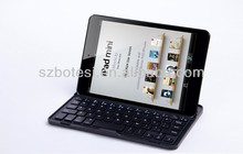 Manufacturing!!!For ipad mini aluminium alloy wireless bluetooth keyboard with stand