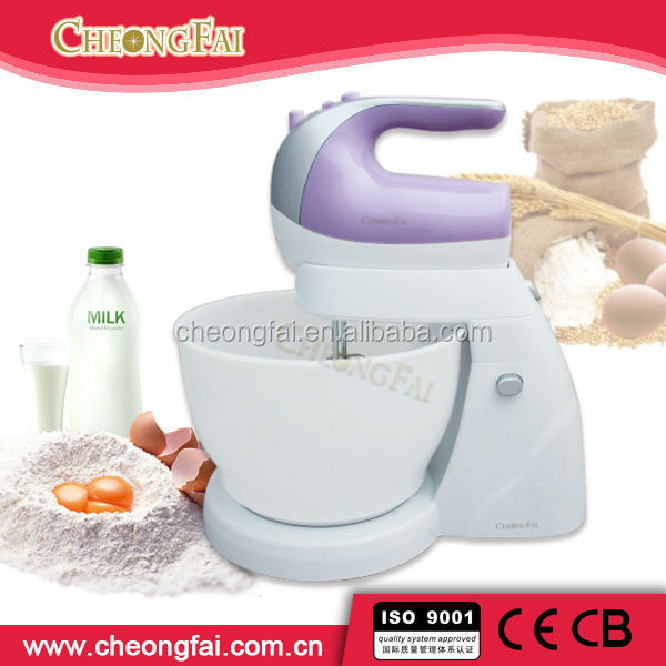 5 speeds and 4 L roating bowl Planetary And Cake Mixer