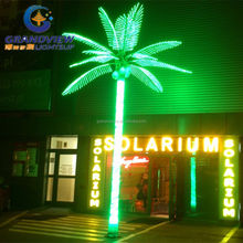 2016 Factory outlet led coconut palm tree light