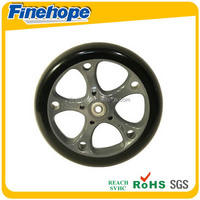 the best selling polyurethane coated rubber wheel