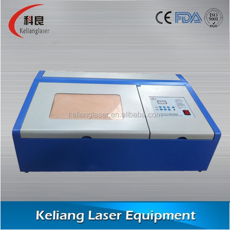 hot sale cell phone screen protector engraving machine , cheap 40w laser engraving machine