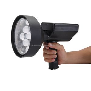 Easy carrying 36W led rechargeable handheld spotlights for predator hunting 4000lm