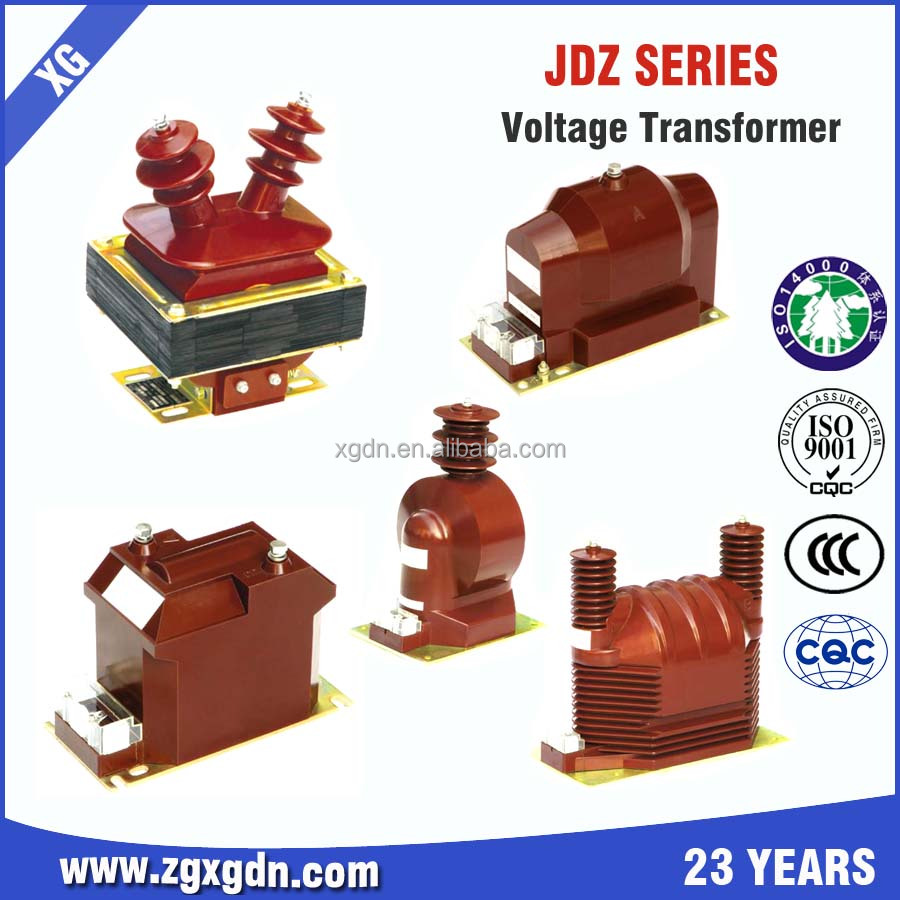 High Quality Jdzj-6q,10q Single Phase Cable Type Voltage Transformer