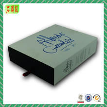 Thick Sliding Cardboard Packaging Paper Gift Box Drawer Type